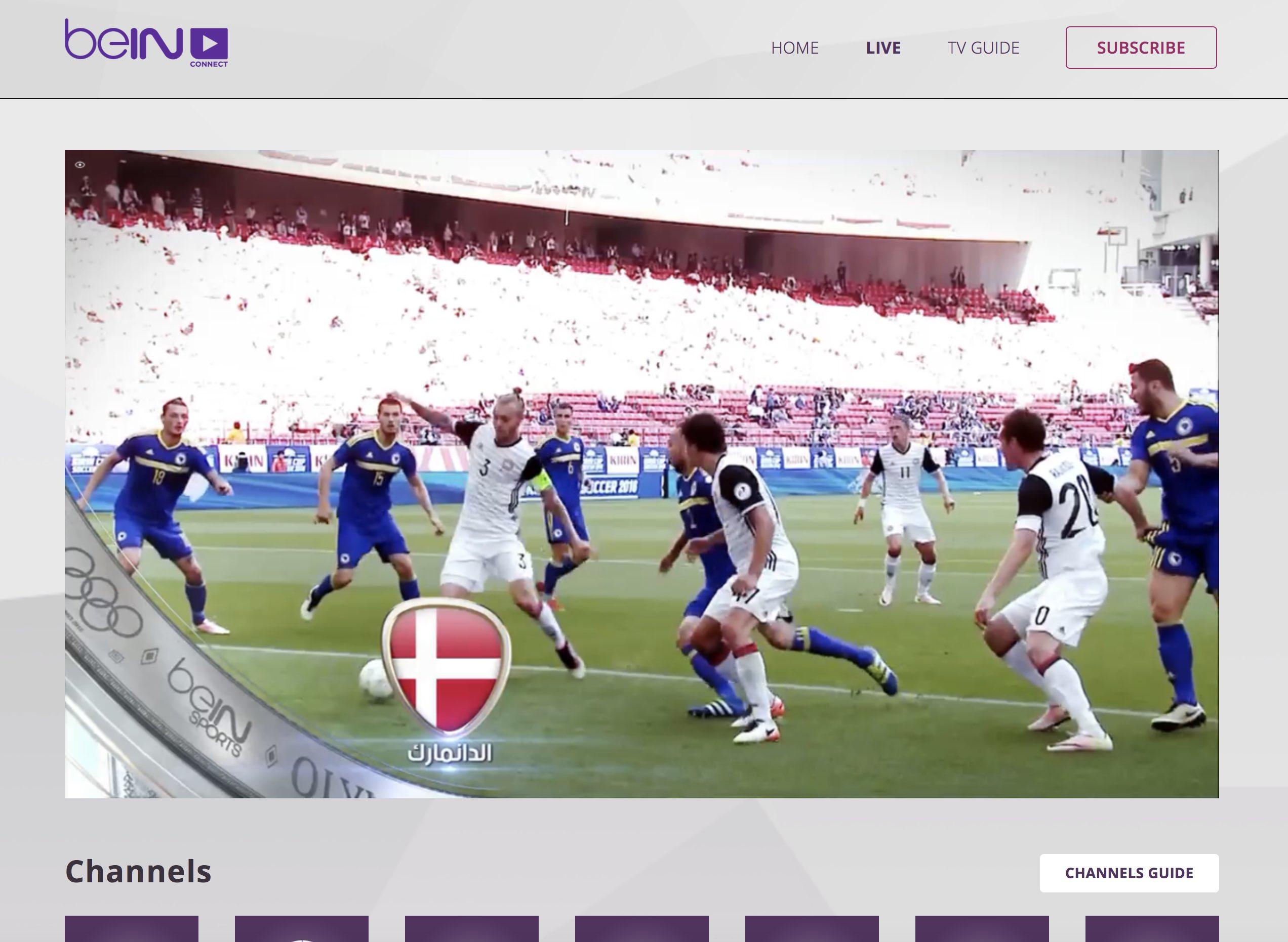 unblock beinsportsconnect Error 3222