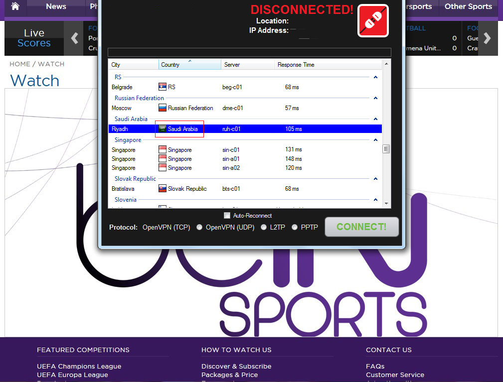 Unblock Bein Sports - Watch Live World Cup 2014