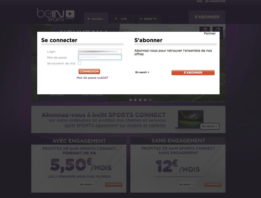 Unblock Bein Sports Connect France GeoBlocked error-9