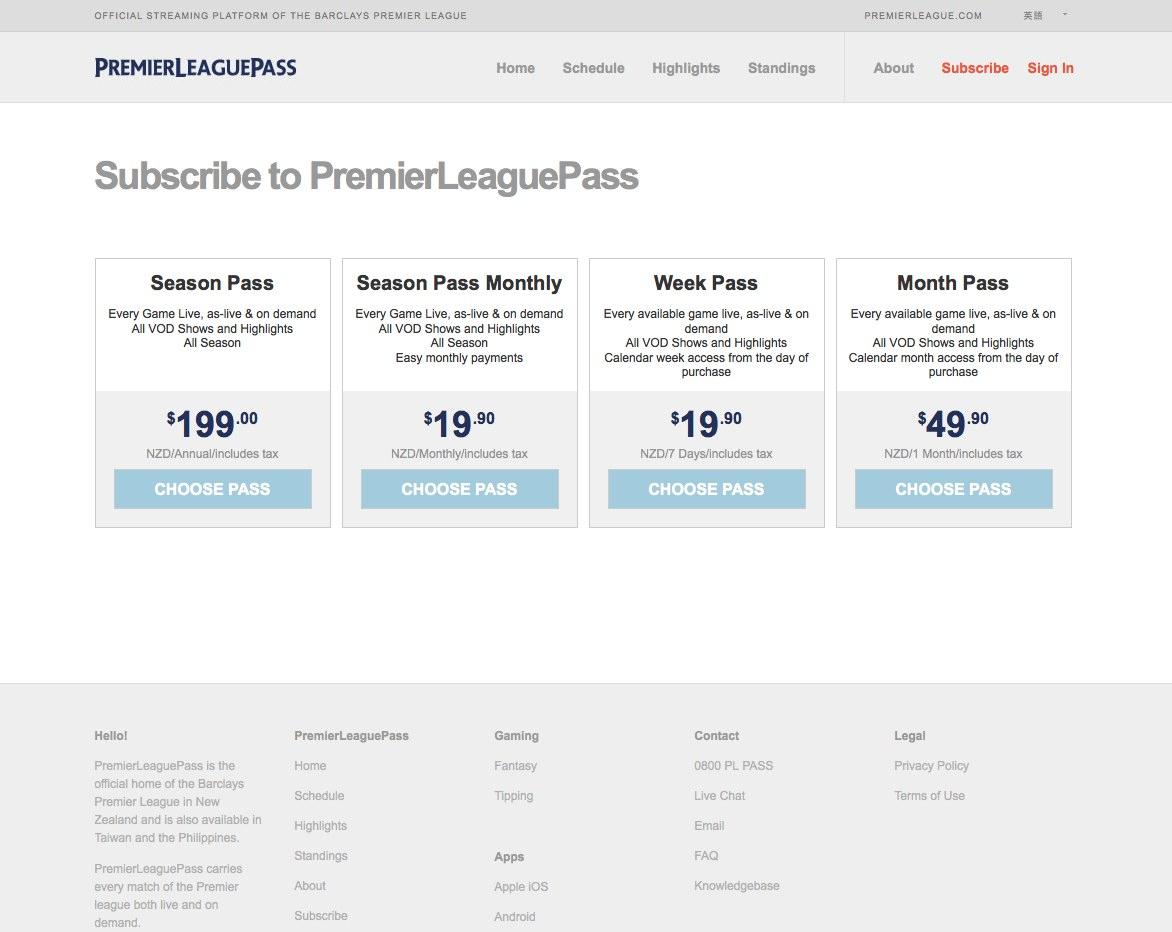 Unblock premierleaguepass smartdns subscribe - Watch Barclays Premier League