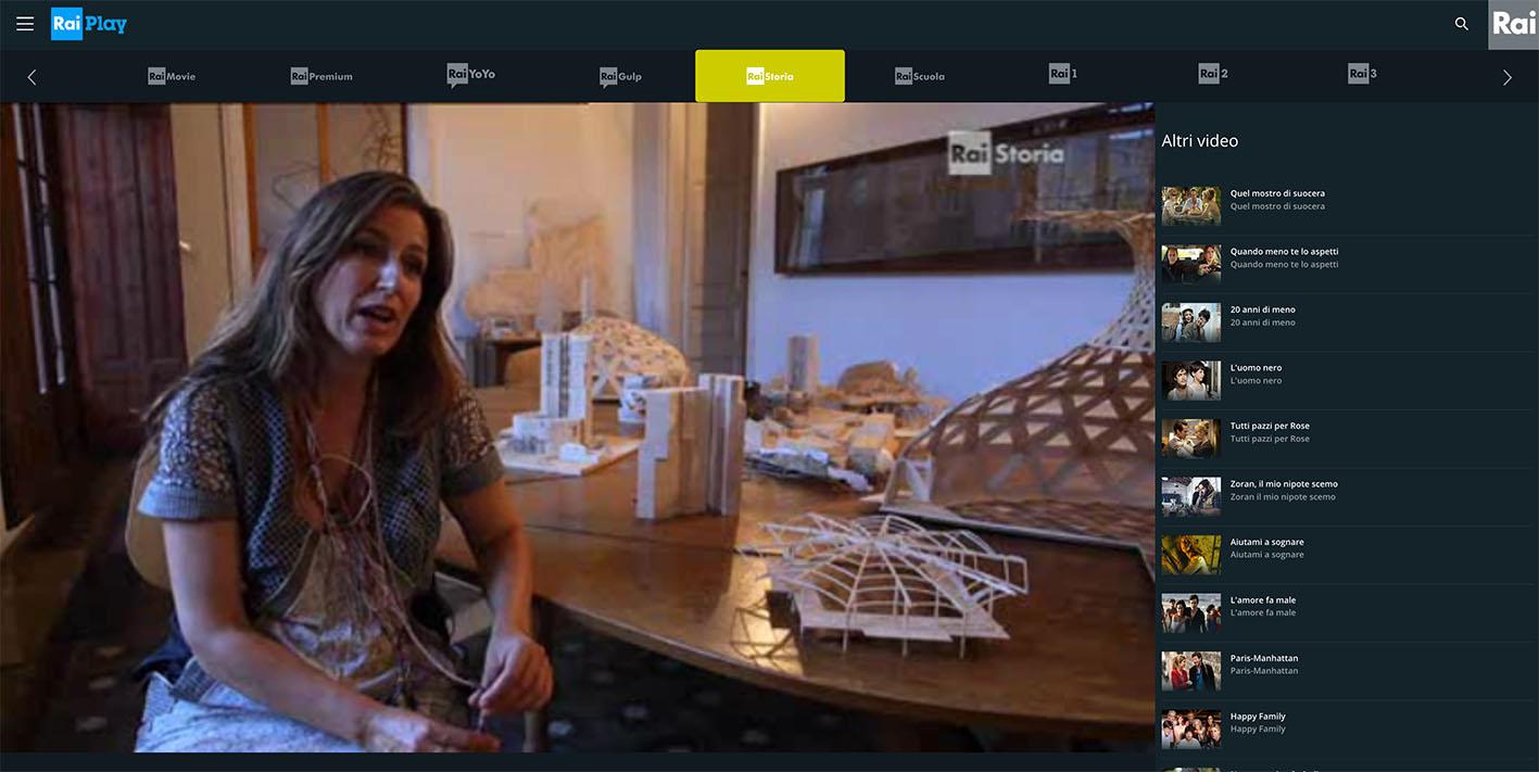 RaiPlay dirette TV not availble - rai storia free streaming online Live