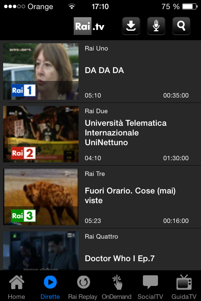 Rai TV diretta GeoBlocked error iOS - Watch Live beIN Sports