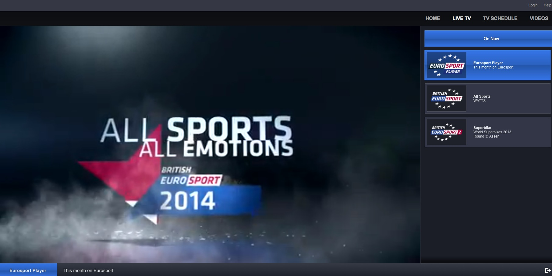 unblock eurosport player and watch live sochi olympics 2014. Black Bedroom Furniture Sets. Home Design Ideas